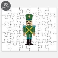 Toy Soldier Christmas Decoration Puzzle