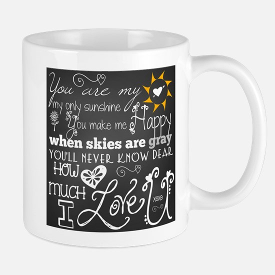 You Are My Sunshine Stainless Steel Travel Mugs
