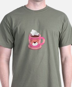 Hot Choclate Teddy Bear Cup T-Shirt