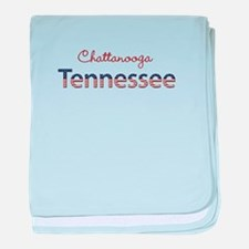 Custom Tennessee baby blanket