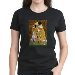 Kiss & Whippet Women's Dark T-Shirt