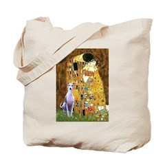 Kiss & Whippet Tote Bag