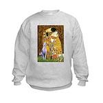 Kiss & Whippet Kids Sweatshirt