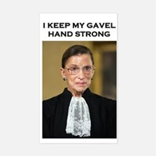 Gavel Hand Strong Decal