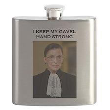 Gavel Hand Strong Flask
