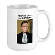 Gavel Hand Strong Mugs