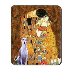 Kiss & Whippet Mousepad