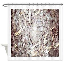 RightOn LovePeace Shower Curtain