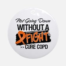 Cure COPD Ornament (Round)
