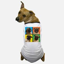 PUG SQUARES Dog T-Shirt