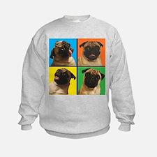 PUG SQUARES Sweatshirt