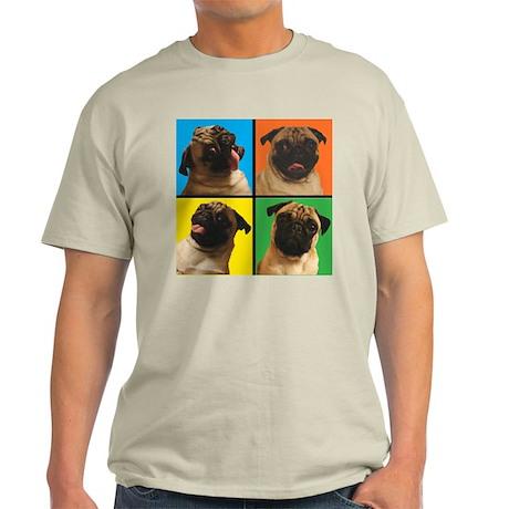 PUG SQUARES Light T-Shirt