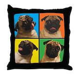 Pug Throw Pillows