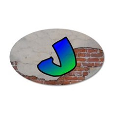 GRAFFITI #1 J Wall Decal