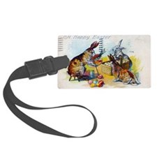 Cute Rabbits Luggage Tag