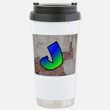 GRAFFITI #1 J Travel Mug