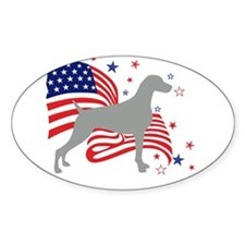 All American Weim Decal