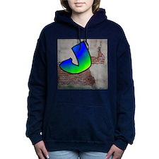 GRAFFITI #1 J Women's Hooded Sweatshirt