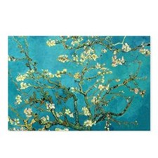 Vincent Van Gogh Blossoming Almond Tree Postcards