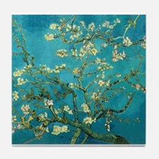 Vincent Van Gogh Blossoming Almond Tree Tile Coast