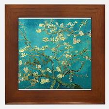 Vincent Van Gogh Blossoming Almond Tree Framed Til