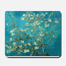 Vincent Van Gogh Blossoming Almond Tree Mousepad