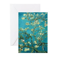 Vincent Van Gogh Blossoming Almond Tree Greeting C