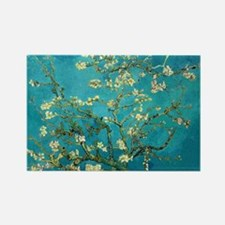 Vincent Van Gogh Blossoming Almond Tree Magnets
