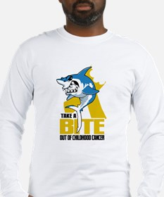 Bite Out Of Childhood Cancer Long Sleeve T-Shirt