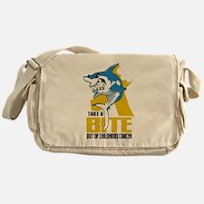 Bite Out Of Childhood Cancer Messenger Bag
