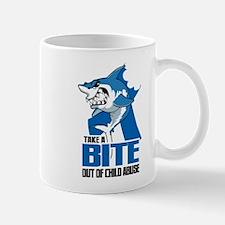 Bite Out Of Child Abuse Mug