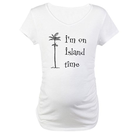 Island Time Maternity T-Shirt