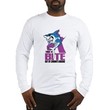 Bite Out Of Crohns Long Sleeve T-Shirt