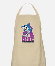 Bite Out Of Crohns Apron