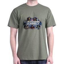 Guardians of the Galaxy Hex Group T-Shirt
