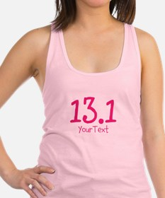 13.1 Optional Text Racerback Tank Top