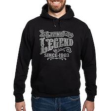 Living Legend Since 1983 Hoody