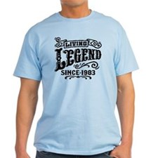 Living Legend Since 1983 T-Shirt
