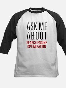Search Engine Optimization Kids Baseball Jersey