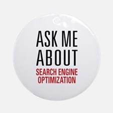 Search Engine Optimization Ornament (Round)