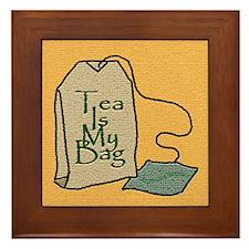 """Tea Is My Bag"" - Framed Tile"