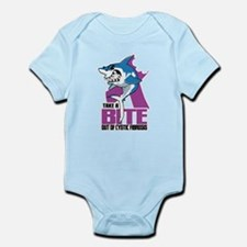 Bite Out Of Cystic Fibrosis Infant Bodysuit