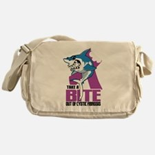 Bite Out Of Cystic Fibrosis Messenger Bag