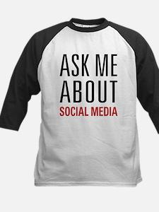 Social Media Kids Baseball Jersey