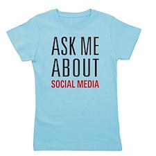 Social Media Girl's Tee