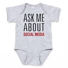 Social Media Baby Bodysuit