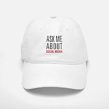 Social Media Baseball Baseball Cap