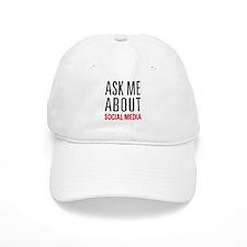 Social Media Baseball Cap