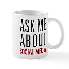 Social Media Small Mug