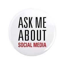 "Social Media 3.5"" Button (100 pack)"